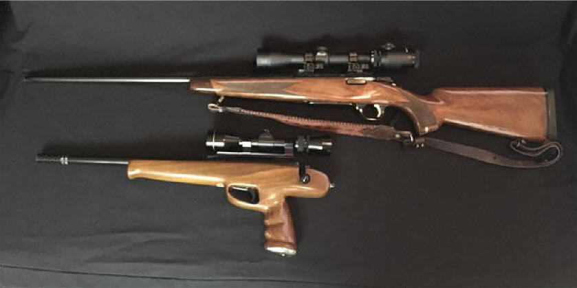 Savage Striker Pistol Rifle Magnum Browning A Bolt 300 WSM