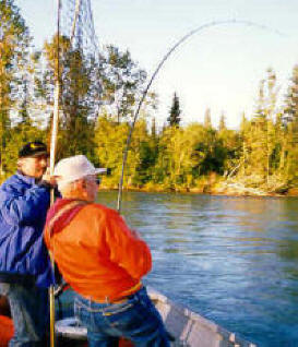 Alaska Salmon Fishing Kenai River